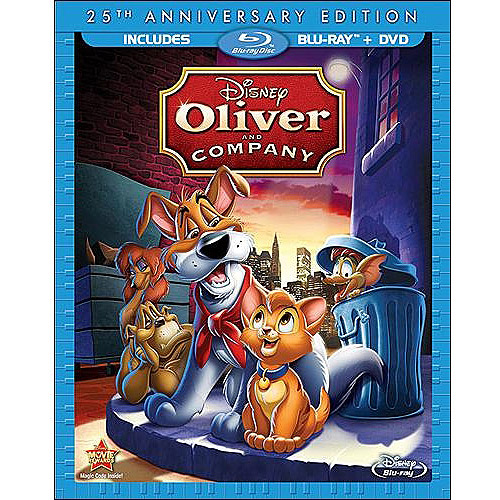 Oliver & Company (25th Anniversary) (Blu-ray + DVD) (Widescreen)