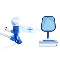 Swimming Pool Vacuum Cleaner Electrical Spa Tub Cleaning Robot Cleaning Tool Kit