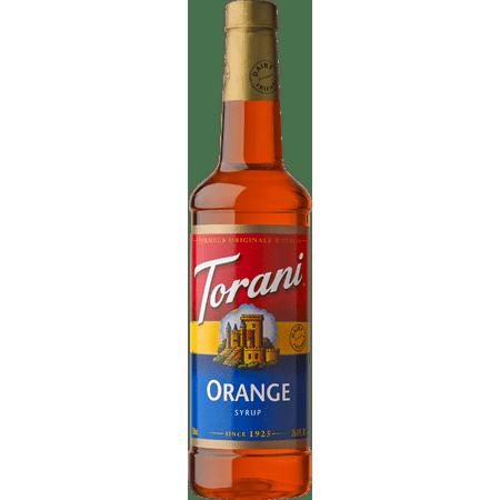 Torani Orange Syrup 750ml