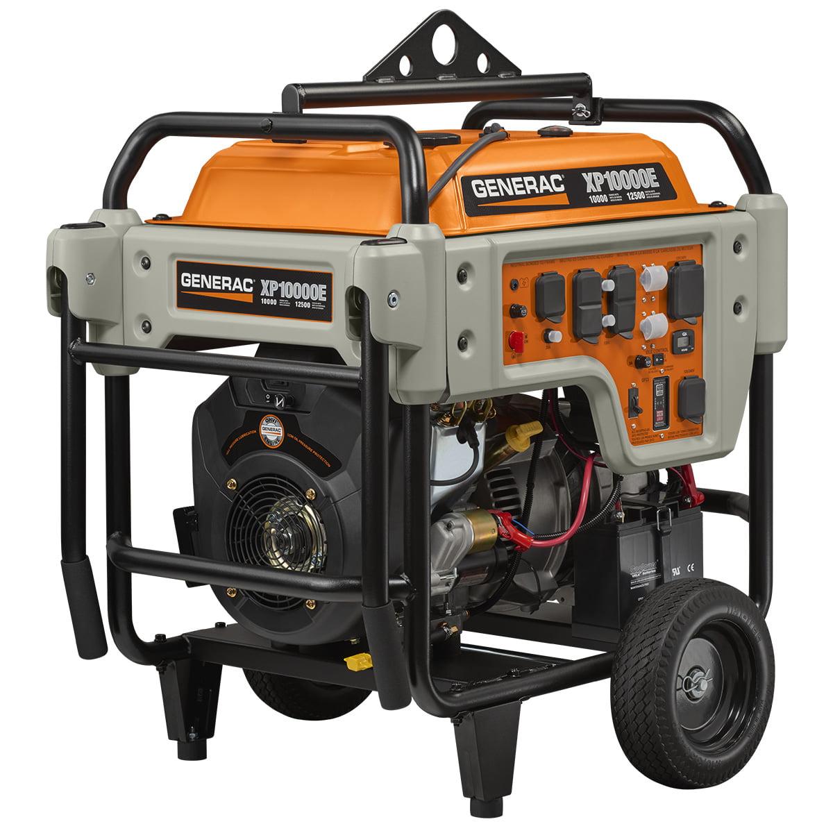 5932 - 10000 Watt Electric Start Portable Generator, EPA/49-State/CSA-Canada