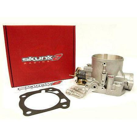 Skunk2 Alpha Series 70mm Throttle Body B16 B17 B18 B20 D15 D16 F20 F22 H22 H23 - Mustang 70mm Throttle Body