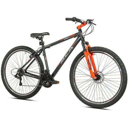 "BCA 29"" SC29 Mountain Men's Bike, Gray/Orange, For Height Sizes 6'0"" and Up"