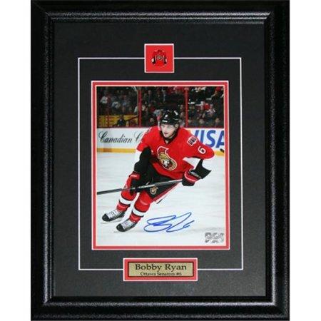Midway Memorabilia bobbyryan_8x10_signed Bobby Ryan Ottawa Senators Signed 8x10 Frame by