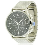 Movado Circa Stainless Steel Mesh Chronograph Mens Watch 0606803