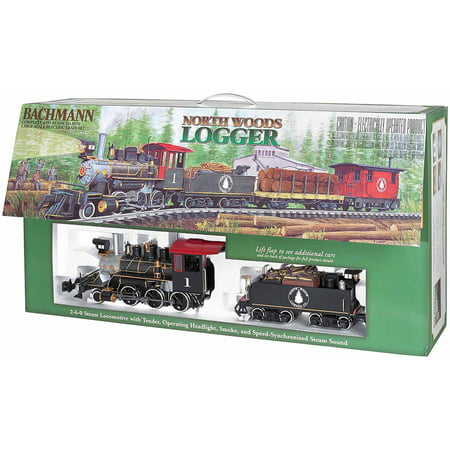 Bachmann® Large Scale North Woods Logger Electric Train Set