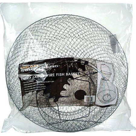 South bend wire fish bag for Fish wire walmart