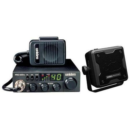 Uniden PRO520Xl 4 Watt 40-Channel Compact CB Radio