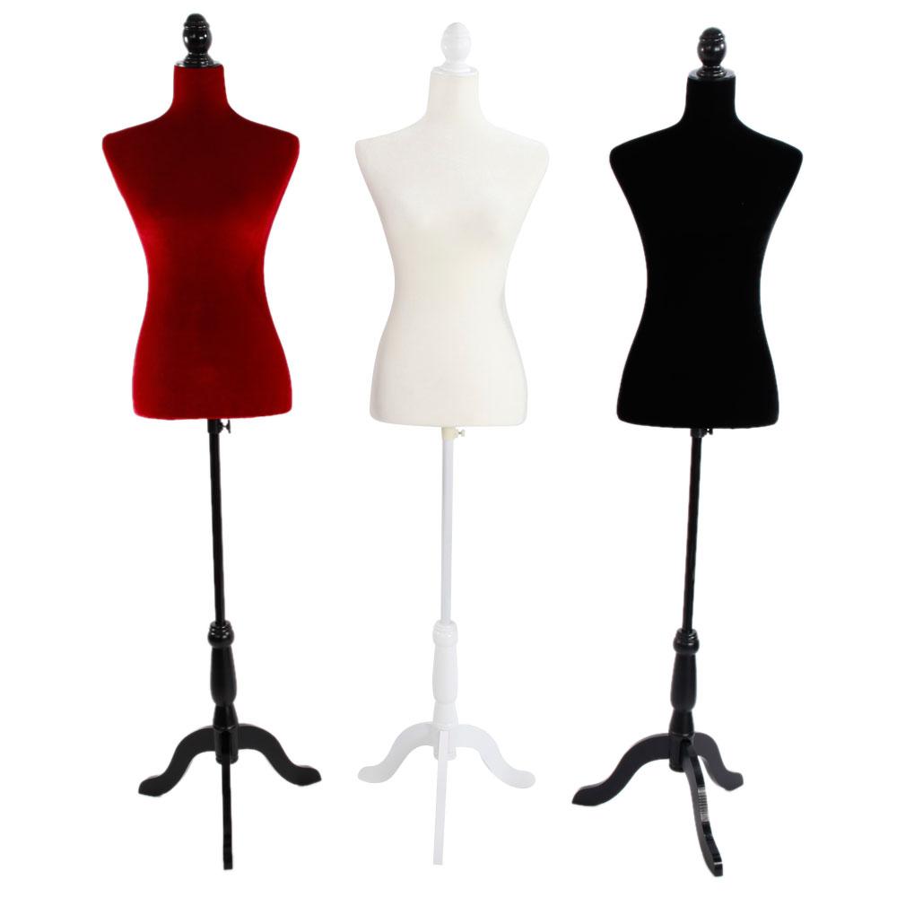 ktaxon fiberglass female mannequin torso clothing display