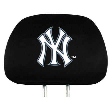 MLB New York Yankees Headrest (New York Yankees Emblem)