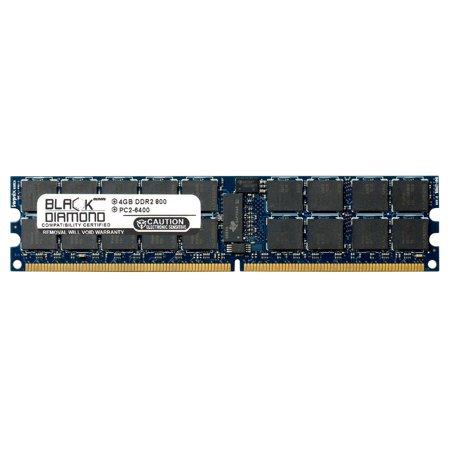 Registered 240 Pin Ddr2 Memory (4GB RAM Memory for Arima Motherboards NK14X Black Diamond Memory Module DDR2 ECC Registered RDIMM 240pin PC2-6400 800MHz)