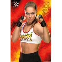 WWE - Ronda Rousey 18 Poster Print
