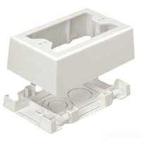 Panduit - Surface mount outlet - white