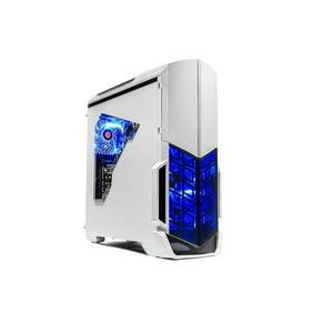 SkyTech Shadow Gaming Desktop AMD Ryzen 5 2600, NVIDIA GeForce GTX 1060 3G, 500GB SSD, 8GB DDR4, 500 Watt 80 Plus Power Supply, Windows 10 Home – VR Ready Gaming PC