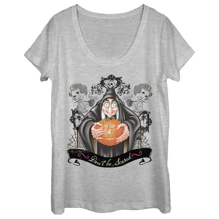 Snow White Witch (Snow White and the Seven Dwarves Women's Halloween Witch Scoop Neck)