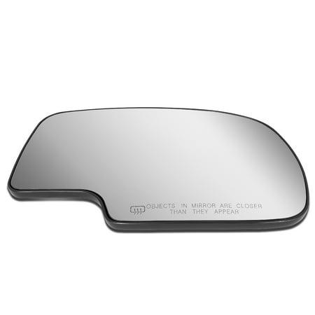 For 1999 to 2007 Chevy Tahoe Silverado GMC Yukon/Sierra Right Side Door Rear View Mirror Glass Replacement Lens w/Heater 00 01 02 03 04 05 06 Silverado Side View Mirror