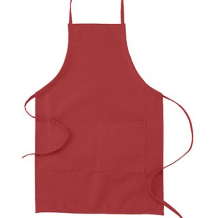 19450 Bx 30 Inch Adj Tie Canvs Apron Red Os - image 1 of 1