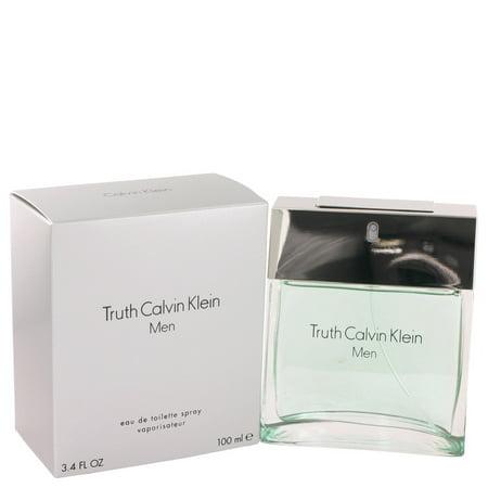 Calvin Klein TRUTH Eau De Toilette Spray for Men 3.4 oz