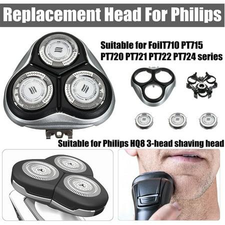 Replacement Shaver Head Razor Head Blade Cutter for Philips FoilT710 PT715 PT720 PT721 PT722 PT724 Head Shaver Blade