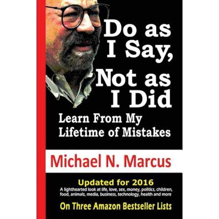 Do as I Say, Not as I Did : Learn from My Lifetime of
