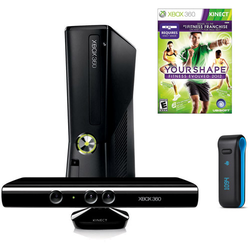 Xbox 360 4GB Kinect with Your Shape Fitbit