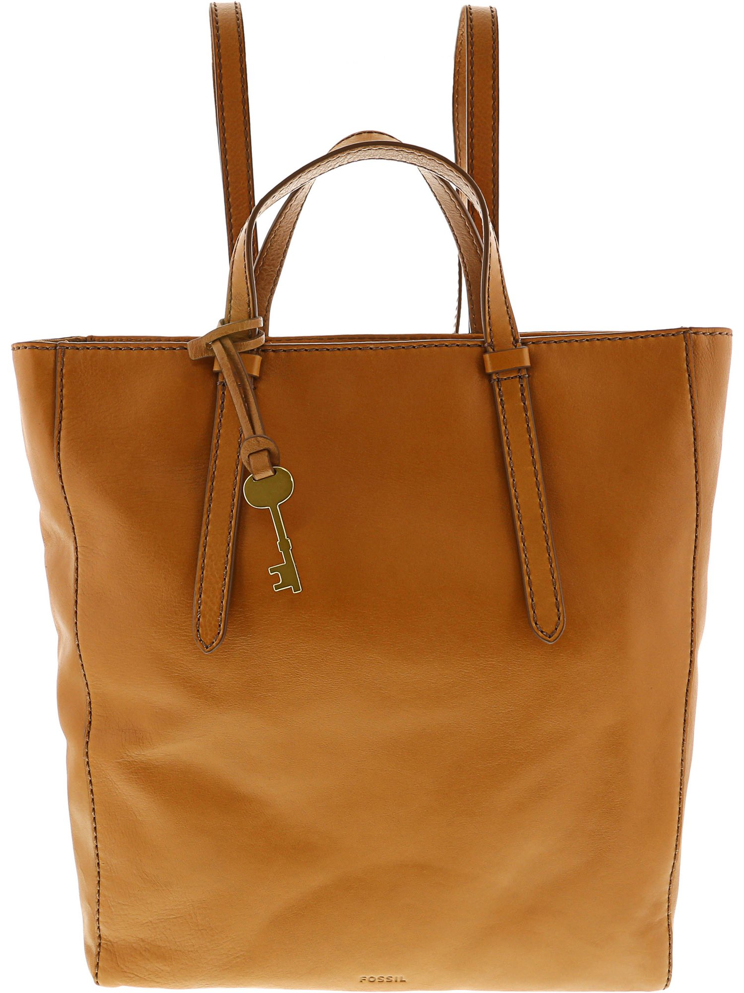 Fossil Women's Camilla Leather Backpack - Medium Brown