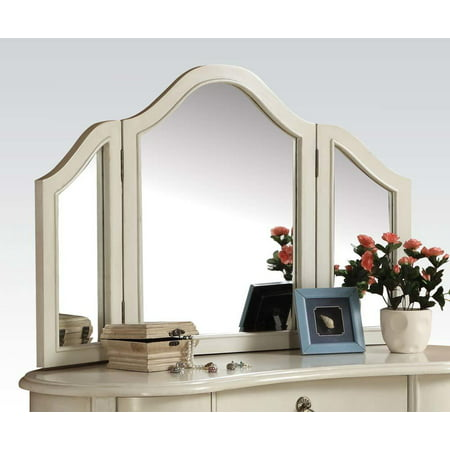 ACME Trini Vanity Mirror, White