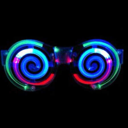 Spiral LED Sunglasses - Led Sunglasses Wholesale
