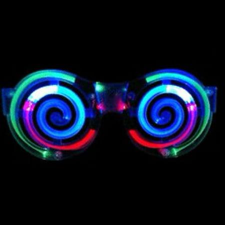 Spiral LED Sunglasses - Sunglasses Led
