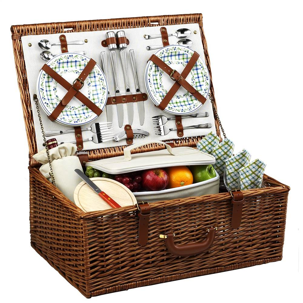 Dorset Gazebo Picnic Basket for Four