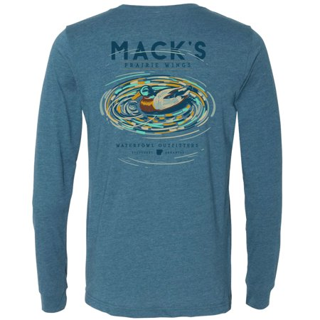 MPW Midday Mallard Long Sleeve Tee Heather Deep Teal (Deep Teal Heather)