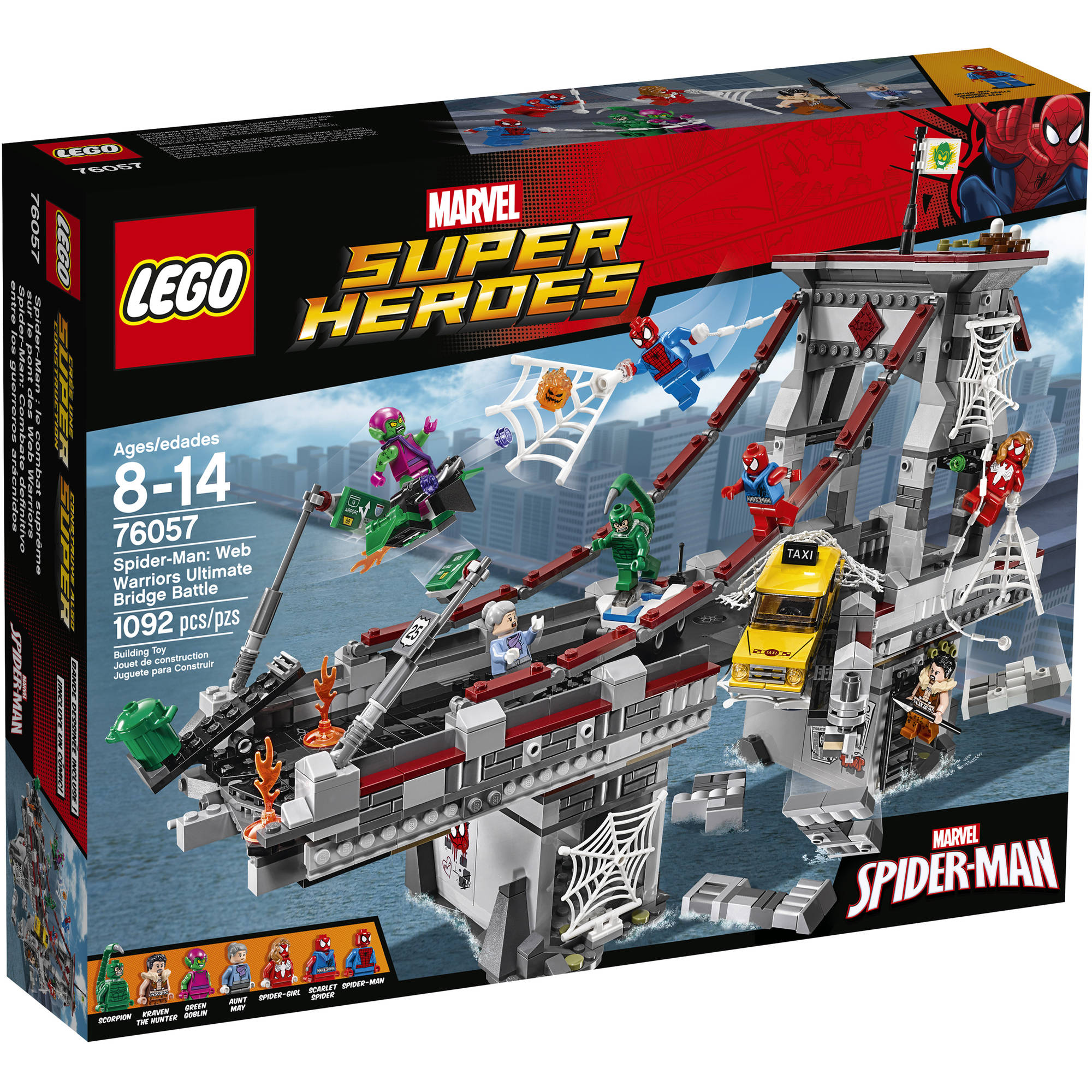 Lego Marvel Super Heroes Spider-Man: Web Warriors Ultimate Bridge Battle, 76057 by LEGO Systems, Inc.