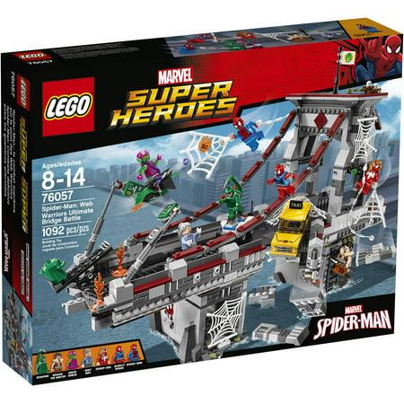 Lego Marvel Super Heroes Spider Man  Web Warriors Ultimate Bridge Battle  76057