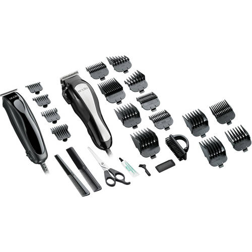 Andis Headliner Clipper and Trimmer Combo Haircutting Kit, 20 pc