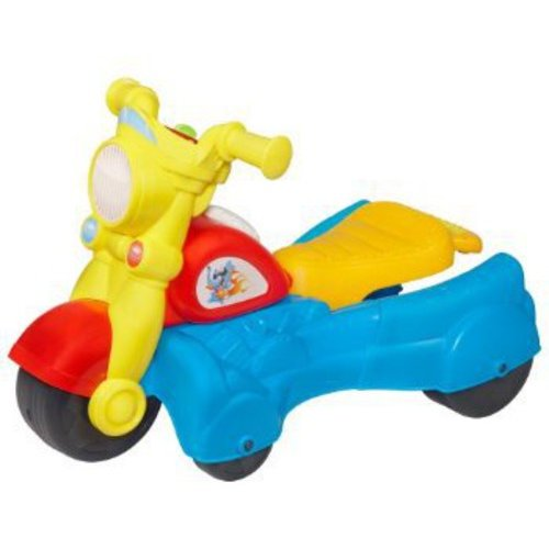 Playskool Rocktivity Walk 'N Roll Rider, Blue
