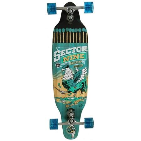 Sector 9 Longboard Bases (SECTOR 9 STRIKER BLUE Longboard Skateboard 9.5