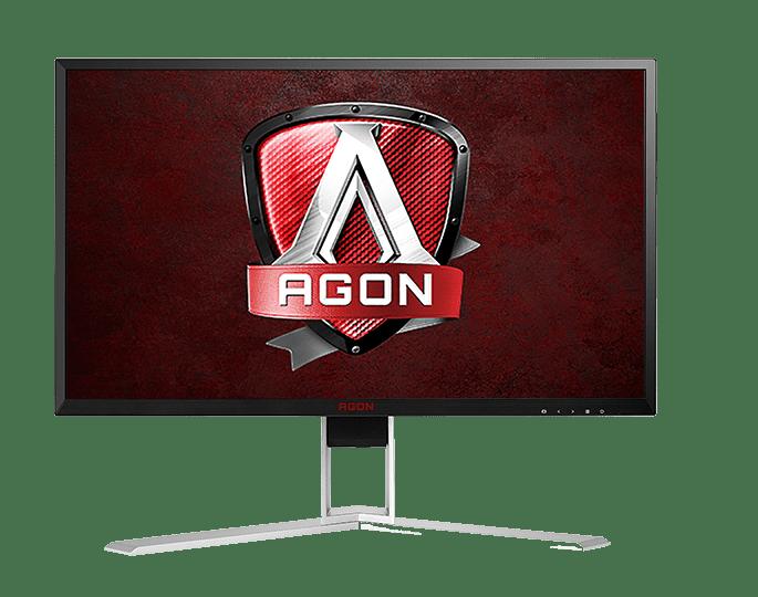 "AOC Monitor 24"" AGON GAMING Gsync 1ms 144Hz QUAD 2560x1440 Res VGA DVI-D HDMI DisplayPort Built-in 2Wx2... by AOC"