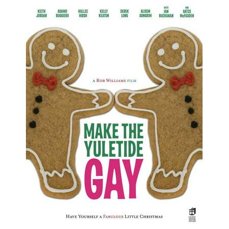 Make the Yuletide Gay POSTER Movie - Halloween Gay Barcelona