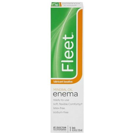 Fleet Mineral Oil Enema 4.50 oz (Pack of 2)