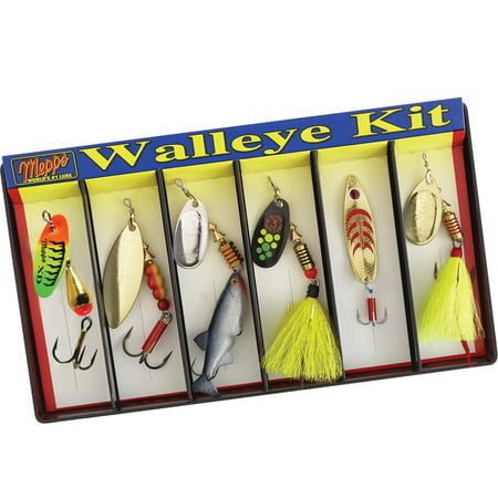 Mepps Walleye Kit - Plain and Dressed Lure