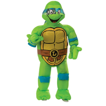 Mens TMNT Inflatable Leonardo Costume - Mens Turtle Costume