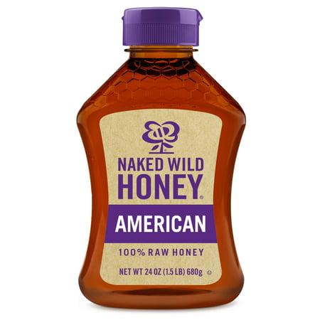 Naked Wild Honey, American Raw Honey, 24 - Honey Wild Cherry