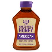 Naked Wild Honey, American Raw Honey, 24 oz