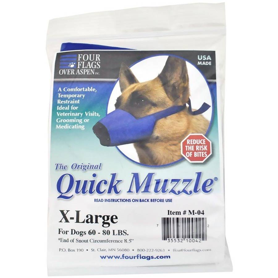 Nylon Quick Muzzle for Dogs XL