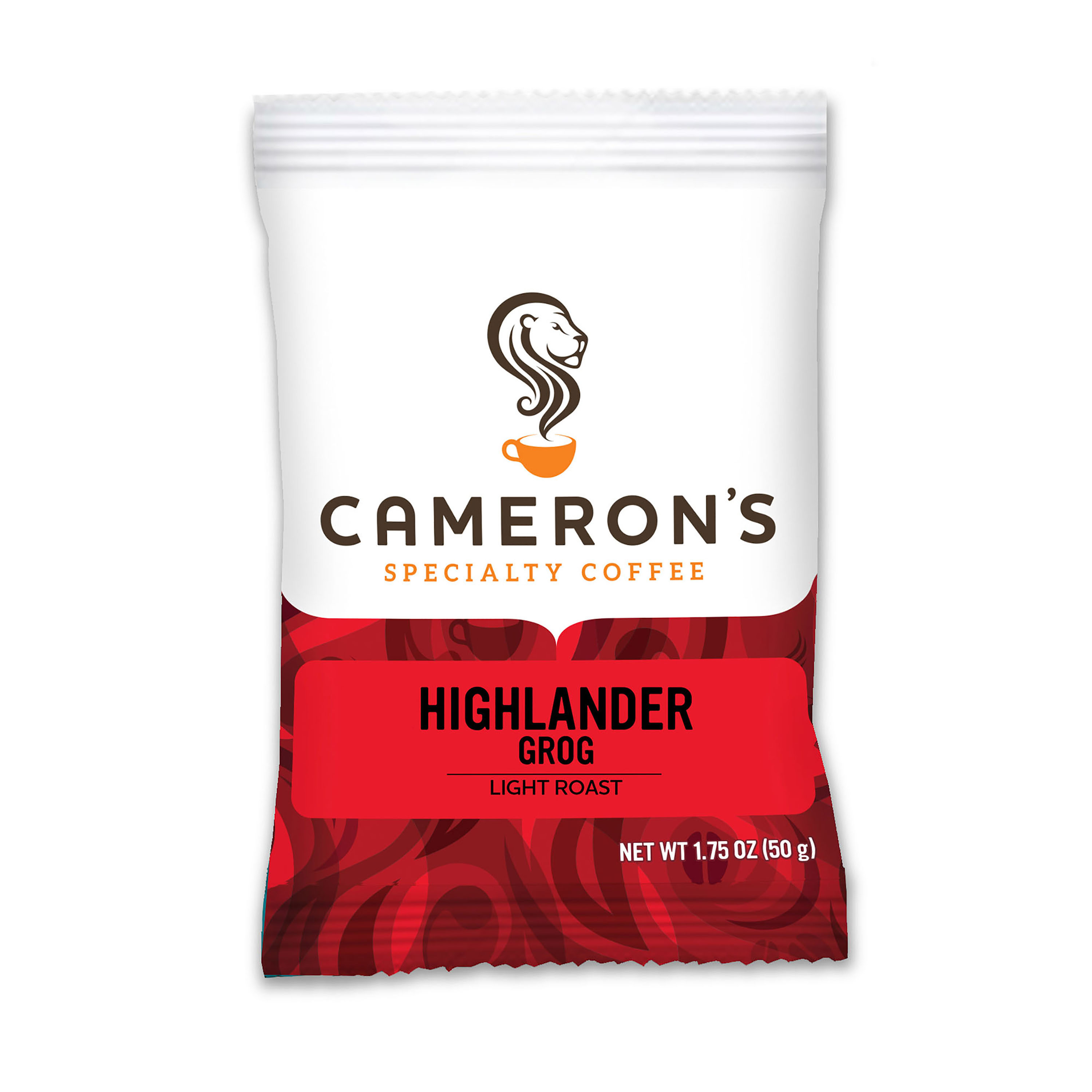 Cameron's Specialty Coffee Highlander Grog Ground, Portioned Packet, 1.75 oz