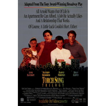 The Torch Song Trilogy (1988) 11x17 Movie Poster
