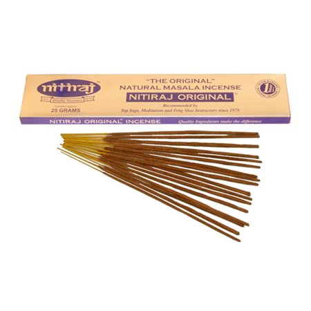 Nitiraj The Original Natural Masala Incense Slow Burning 1 Hour per