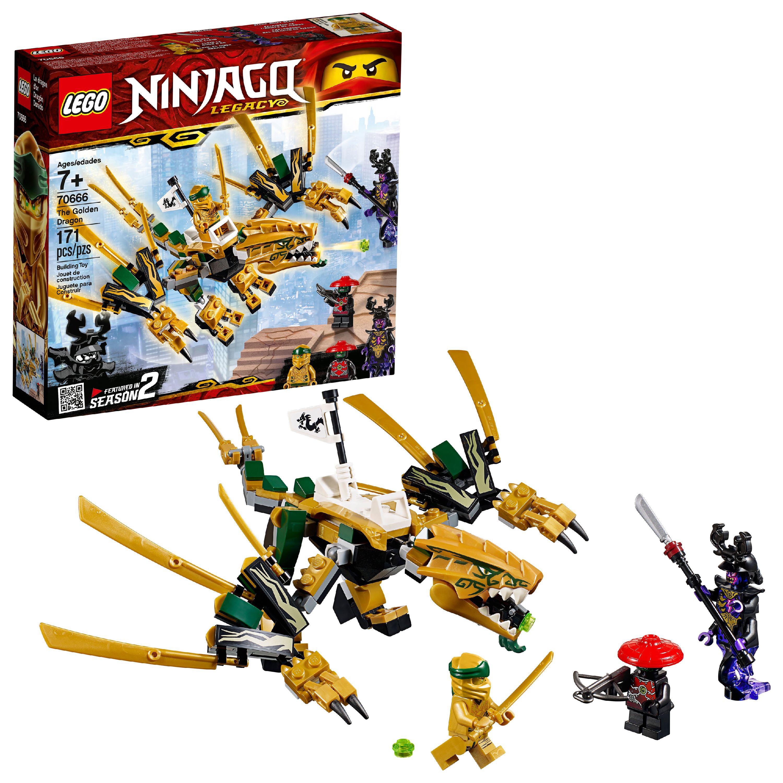 LEGO Ninjago The Golden Dragon Building Set 70666 (171 Pieces)