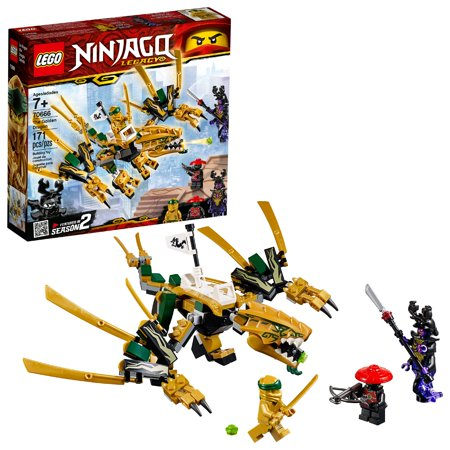 LEGO Ninjago The Golden Dragon Building Set 70666 (171 (Lego Ninjago Samurai X Cave Chaos Set)