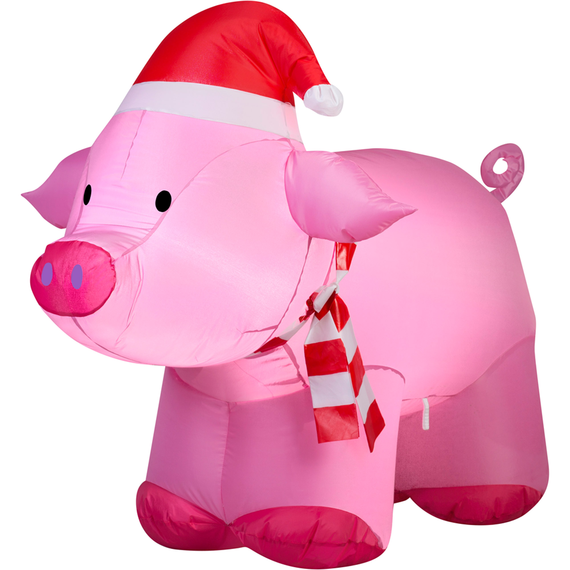gemmy airblown inflatable 3 pig christmas decoration walmartcom - Inflatable Outdoor Christmas Decorations