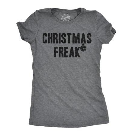 crazy dog tshirts - womens christmas freak t shirt funny holiday cheer xmas tree ornament (Holiday Cheer Ornament)